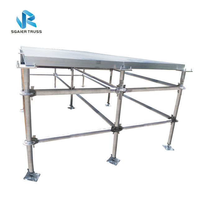 Heavy Duty 2*1m Stage Layer Truss Steel Pallet Rack